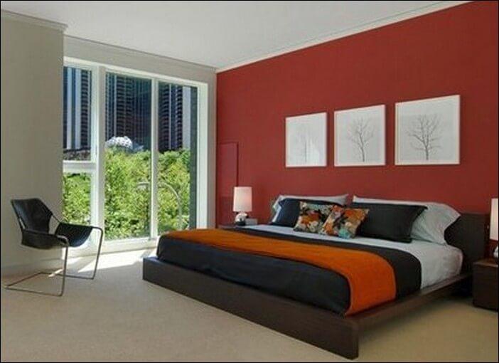Warna Kamar Tidur Merah
