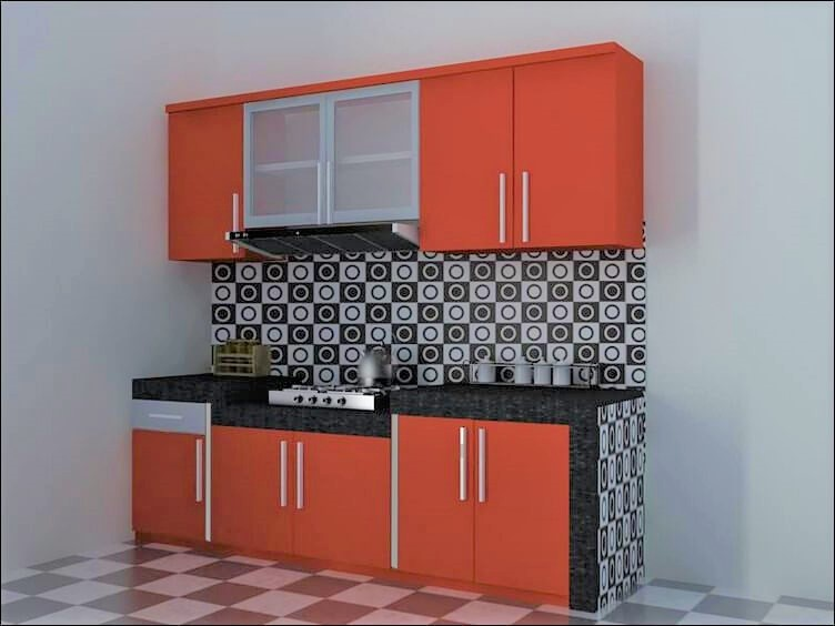 Dapur Minimalis Kitchen set