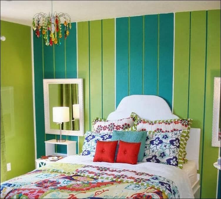 Warna dinding kamar tidur