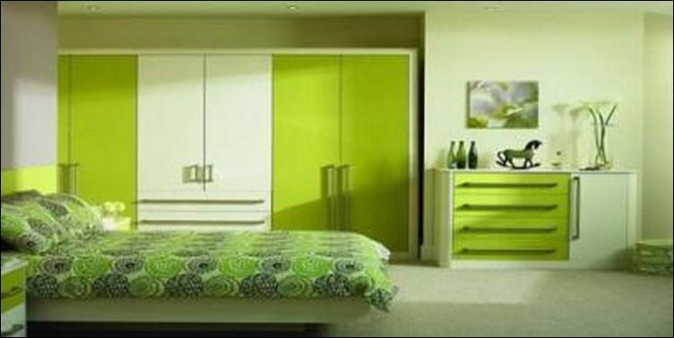 Interior Kamar Tidur Minimalis Nuansa  Warna  Hijau  6 TIPS
