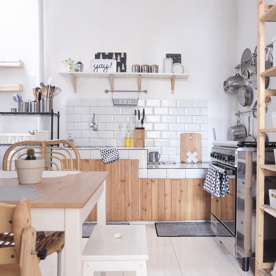 dapur scandinavian
