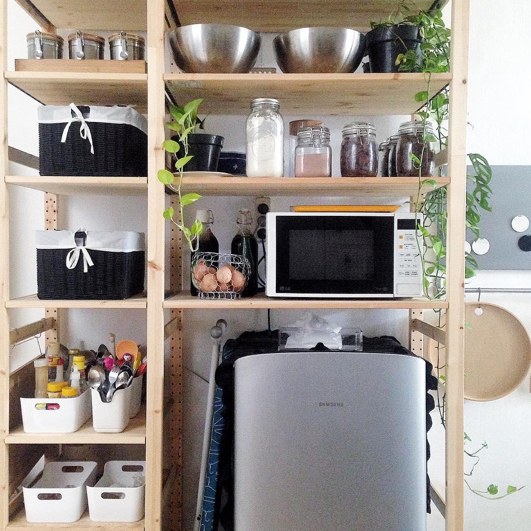 dapur gaya scandinavian