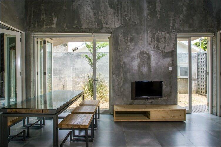 konsep interior rumah