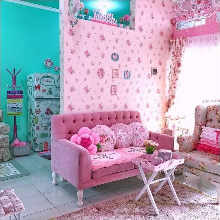 interior rumah shabby chic