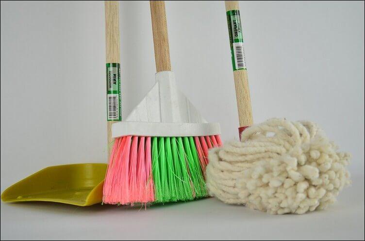 agar rumah rapi dan bersih